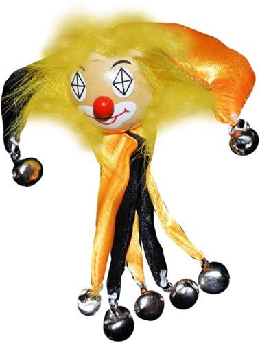 Clowns Broche Zwart/Geel