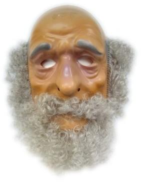 Masker Plastic Abraham met Haar