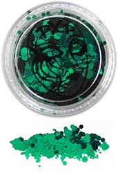 PXP Glitters Grof Groen (Grass Green) 5gr.
