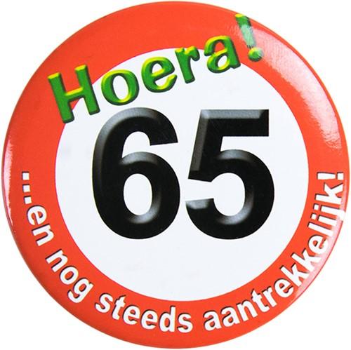 Button Hoera 65!