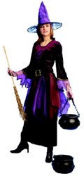 Heksenjurk Midnight voor dames