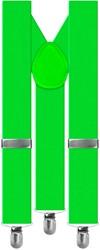 Bretels Luxe Neon Groen