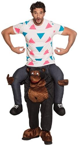 Piggyback Kostuum Gorilla