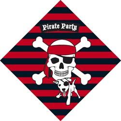 Servetten Piraat 20 stuks