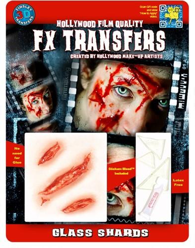 Professionele Wond FX - Wonden met Glasscherven