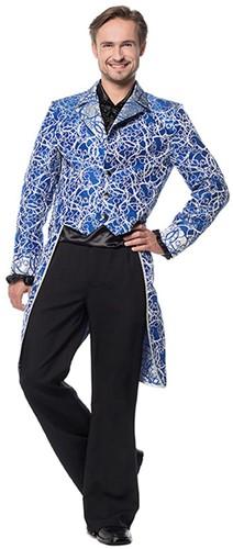 Slipjas Circles Luxe Heren Blauw