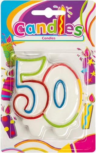 Kaarsje 50