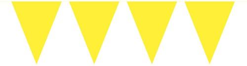 Mini Vlaggenlijn Geel 3mtr.