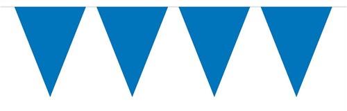 Mini Vlaggenlijn Blauw 3mtr.