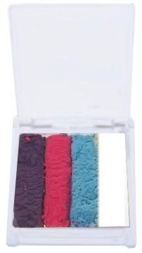 Splitcake Paars/Neon Rood/Lichtblauw/Wit