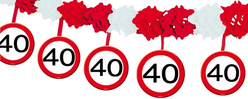 Slinger 40 Jaar Verkeersbord