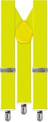Bretels Luxe Neon Geel