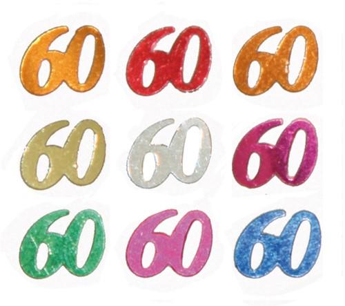 Confetti 60 Jaar