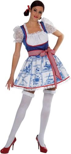 Sexy jurkje Delftsblauw