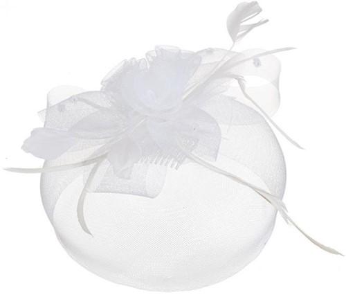 Haarstukje Tule Luxe Wit