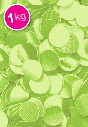 Confetti 1 Kilo Lime Groen