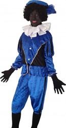 Zwarte Piet Kind Blauw