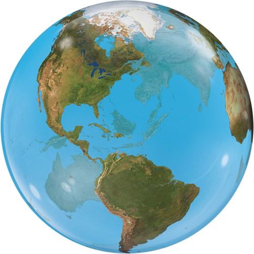 Bubble Ballon Wereldbol