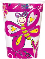 Bekers 6st Butterfly