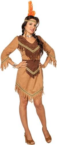 Indiaanse Dame Luxe Beige