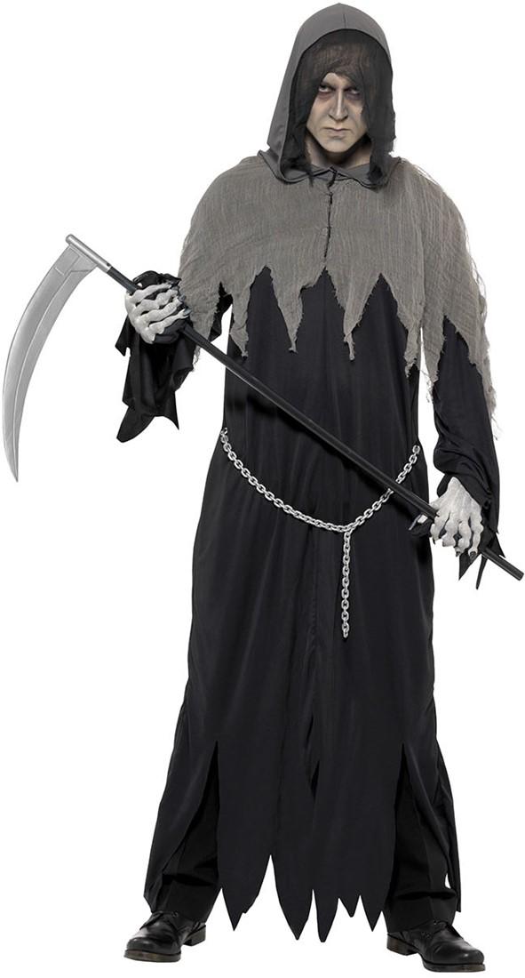 Halloween Kostuum Magere Hein.Halloween Kostuum Grim Reaper