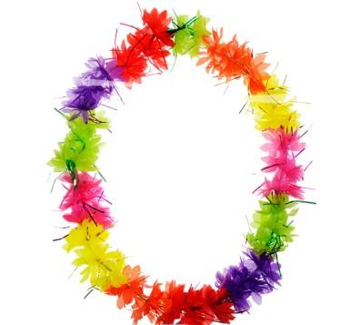 Hawai Krans Tinsel Multi-coloured