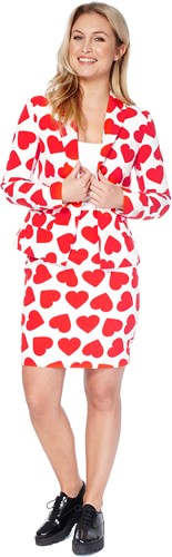 Dameskostuum OppoSuits Queen of Hearts