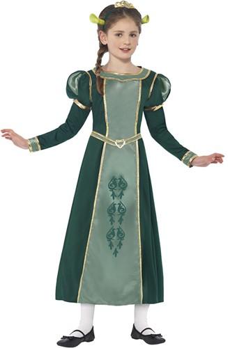 Kostuum Prinses Fiona (Shrek) voor meisjes