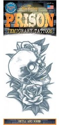 Tattoo Doodshoofd Skull & Roses