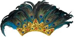 Hoofdtooi Pauwen Koningin