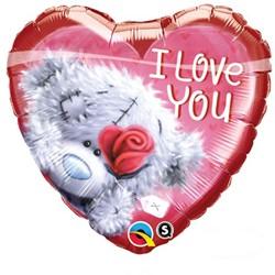 Folieballon I Love You Teddy (46cm)