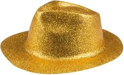 Disco Glitter Hoed Goud