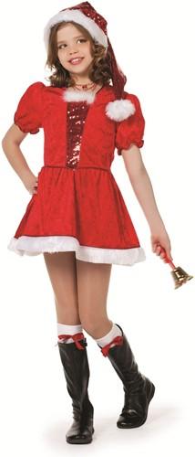 Kerstmeisje Pailletten