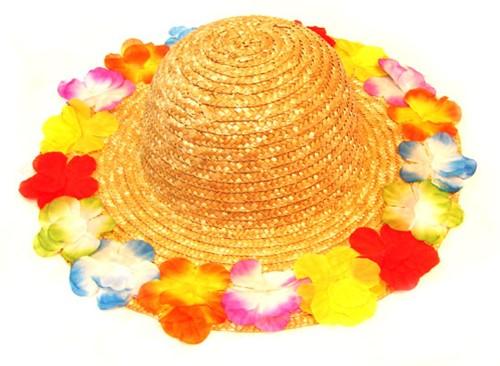 Hawaihoed Riet + Bloemen