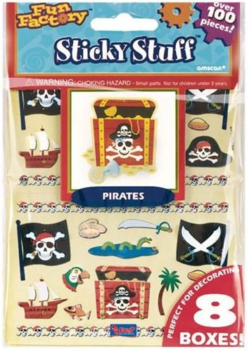 Stickerset Piraat