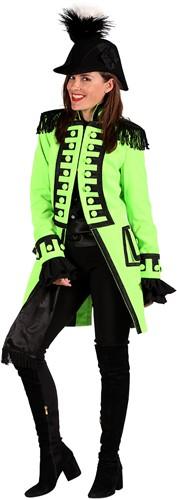 Carnavalsjas Nelson Lime Groen Luxe voor dames