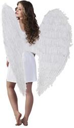 Engelenvleugels Mega Wit 120x120cm.