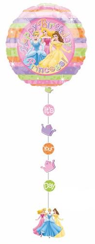 Drop Line Princess Happy Birthday