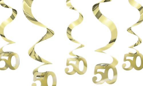 Streamin Swirl 50 Gold