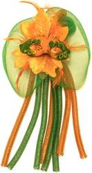 Broche Venice Oranje/Groen