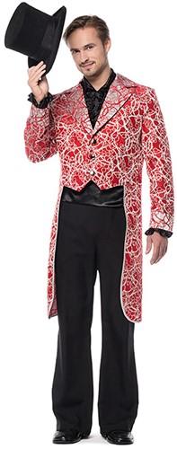 Slipjas Circles Luxe Heren Rood
