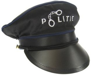 """Politiepet met Tekst Politie"""""""""""