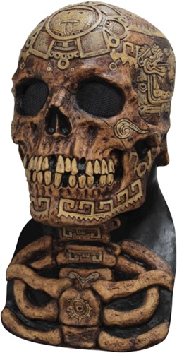 Aztec Skull Masker Latex Luxe