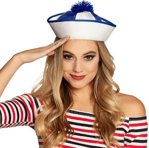 Navy Cap Marine Blauw