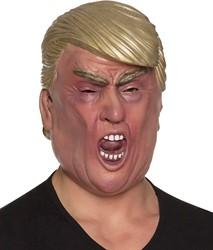 Masker Amerikaanse President Trump Schreeuwend