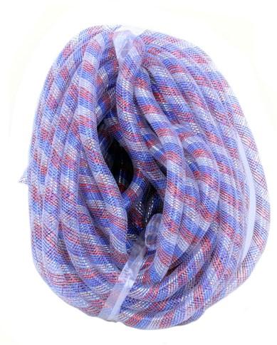 Decoslang Tube Rood-Wit-Blauw Ø16mm - 2,5m