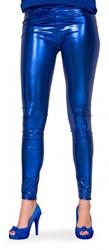 Legging Metallic Luxe Blauw