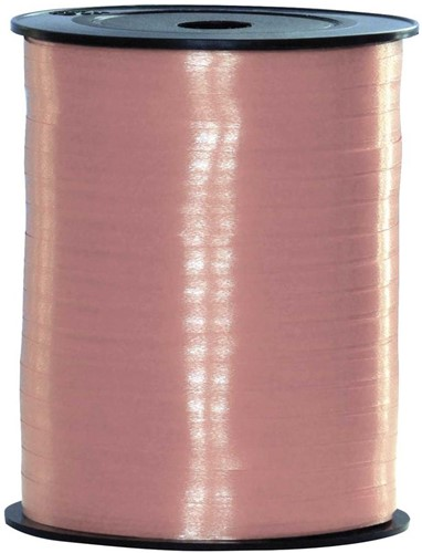 Cadeaulint Baby Roze 10mm Breed, 250m op Rol