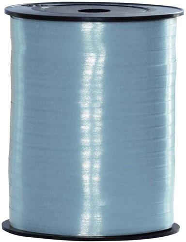 Cadeaulint Baby Blauw 10mm Breed, 250m op Rol