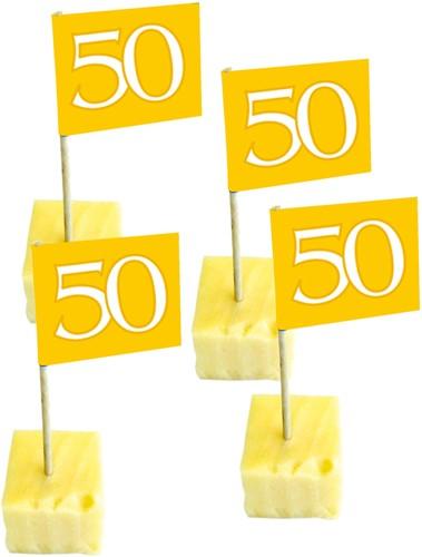 Prikker 50 Goud 50st